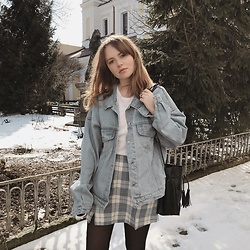 Kristina Magdalina - Poppy Lovers Denim Jacket - The Best Denim Jacket Ever