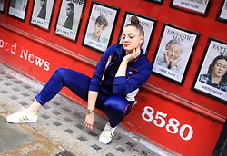 Agata Nika - Levi's® Olympic Jacket, Levi's® Tracksuit Bottoms, Levi's® Adidas Trainers - Back to 1984