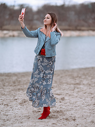 Tati - Zara Jacket, Taranko Dress - But first, let me take a selfie!