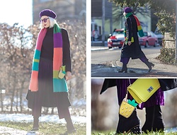 Maria R -  - Color Block Scarf