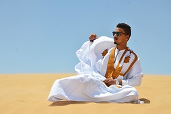 Bachir HA - Komono Glasses, Daniel Wellington Watches - Sahrawi and proud