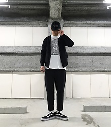 ★masaki★ - Kollaps Post Punk ポストパンク, Ch. Jacket, Joy Division Unknown Plesure, Ch. Trousers, Vans Oldskool - ポストパンク ~ POST PUNK ~