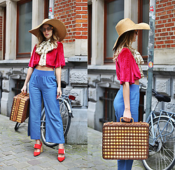 Ruxandra Ioana - Delphine The Label Top, Airydress Pants - It's so wrong