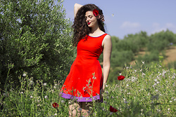 Sara Nena -  - Poppy dress