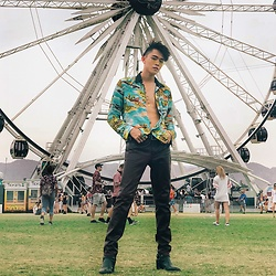 MR.BRIAN SEE - Coach Shirt - Coachella Day 3