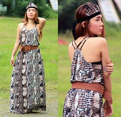 Julie Lozada - Simone's Closet Boho Dress - Boho Chic