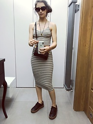Alexandra Sakowska - Puma Shoes, Bershka Skirt, Bershka Top - Match