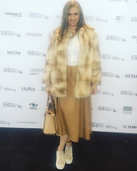 Marcela Perez -  - Camel and Superga