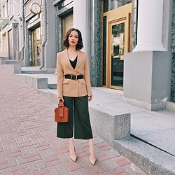 Sonya Karamazova - Parisa Wang Bag - CULOTTES AND BLAZER