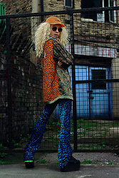 Milex X - We Are Done Hat, Diva Tress Wig, Gurls Crime Jacket, Coblens Sunglasses, Rheab Funky Pants - WILD THINGS