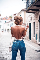 Dragana Savic - Zara Jeans, Zara Bag - Back off