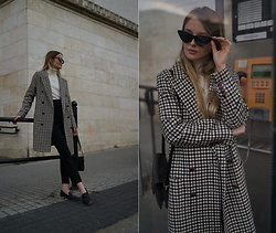 PATINESS - Blog, Instagram, Facebook - VINTAGE CHECKED COAT