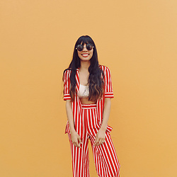 Gabirul C - Zara Suit - Ketchup and mustard