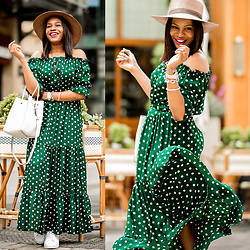 Monica Awe-Etuk -  -  CONNECTING THE DOTS – A MODERN WAY TO STYLE POLKA-DOTS
