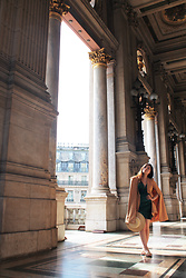 YINSEY (ig: tornandpolished) ♡ - Lavish Alice Cape Dress, Zara Sandals, Asos Hat - PALAIS GARNIER