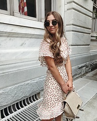 Fashion Sensored -  - Polka Dot Dress