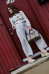 Christina N -  - Linen Monochrome Summer Outfit