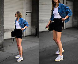 Katarina Vidd - On My Blog, On My Blog - Two tone denim