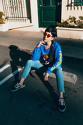 Samantha Mariko - Yent Tokyo Top, Zerouv Glasses, Levi's® Jeans, Vans Shoes - Get it how you live it