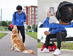 Haikang - Nike Hoodie, Jack And Jones Sweatpants, Adidas Sneakers - Casual + Workout