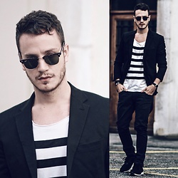 I N F A S H I O N I T Y a style story - Ray Ban Clubmaster - FRENCH LOOK