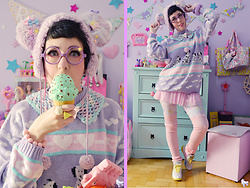 Luly Pastel Cubes -  - Happy mint gelatto
