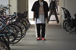 Hideki. Mn - Bukht Work Shirts, Bukht Gathering T Shirts, Shoop Back Pack, Bukht Big Denim Pants, Nike Airrift - Japanese fashion 75