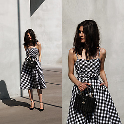 CLAUDIA Holynights - Chic Wish Dress - Gingham dress