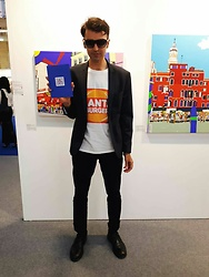 Marco Santaniello - Santa Burger Check Out My New Project !, Hamaki Ho Cotton Made In Italy, Tom Ford Best Sunglasses Ever - ANOTHER LOOK FROM ART REVOLUTION TAIPEI 2018 ! SANTA BURGER