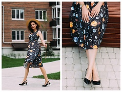 Katerina Lozovaya - Gamiss Dress, Asos Shoes - Interstate Love Song