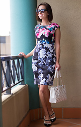 Lindsey Puls - Lilee Fashion Dress, Kate Spade Bag, Modcloth Heels - Mixing & Matching Floral Prints