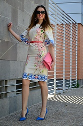 Elisabeth Green - Zaful Dress, Asos Shoes - Print Dress