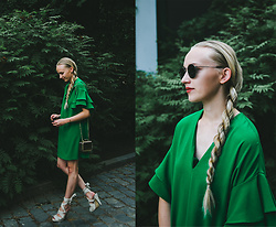 Christa Könönen - Ray Ban Sunglasses, Zara Dress - 030618 ig @chsnafu