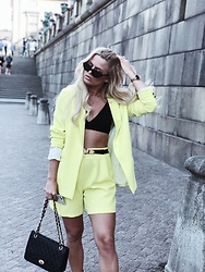 Emmy Nikolausson - River Island Two Set, Ur&Penn Bag - NEON LIGHTS ~
