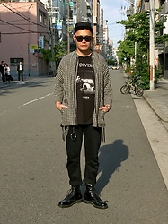 ★masaki★ - New York Hat Civil War, Ch. Checked Shirtsjacket, Joy Division Closer, Neuw Denim Studio Rilaxed, Dr. Martens Allblack 8hole - CLOSER