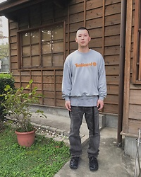 No Rehearsal - Christopher Shannon Sweatshirt, Vintage, Vetements Sneakers - 22. MARL