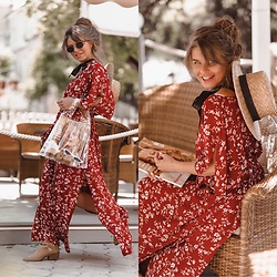 Inessa Melnik - Shein Bag, Shein Dress - Fashionista