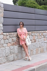 Claudia Villanueva - Zaful Playsuit, Misako Bag, Au Revoir Cinderella Sandals - I´m with you, we are all together