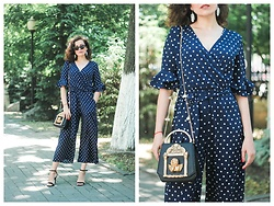 Katerina Lozovaya - Shein Jumpsuit, Jollychic Bag - A Life of Peacefulness