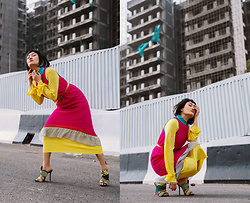 Aien Jamir -  - Who is feeling the color block?