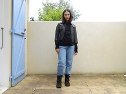 Lulu Longstocking - Leather Jacket, Kickers Boots, Jeans - Jessica Jones Marvel bound