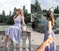 Eloise Alice -  - Ultraviolet Ice Watch & a Lilac Dress