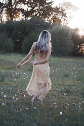 Daniella Robins - Topshop Dress - Dancing With The Dandelions