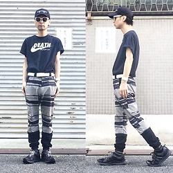@KiD - (K)Ollaps Electronica, Healthgoth Death Nike Tee, Shoop Pc Crush Pants, Puma Hussein Chalayan - JapaneseTrash409