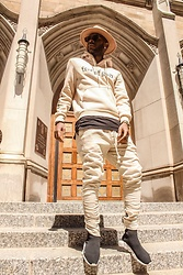 Kris Hilton - Fear Of God Hoodie, Joggers, Balenciaga Trainers - No Church In The Wild