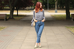 Karolina K - Lee Mom Jeans, Reserved Slingback Shoes - Night in Torino