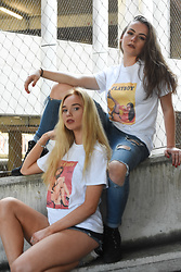 2.5D STREETWEAR - 2.5d Red Play Boy Tee, 2.5d Yellow Play Boy Tee - Play Girls