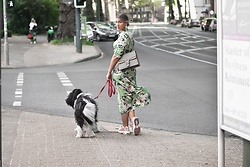 Fashion Statements By Q - Qoffee And More Maxi Summer Dress, Gucci Bag Dionysus, Nike Pink Air Max 95 - Fashion in the city