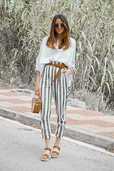 Rebeca LookForTime - Bershka Pants - LINO
