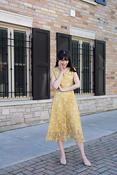 Carolina Pinglo - Metisu Dress - Yellow Dress